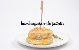 hamburguesa de patata