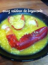 Receta de arroz caldoso de bogavante