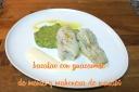 Receta de pescado blanco con guacamole de menta y mahonesa de wasabi